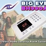 BIG EYE BH990A Wireless Home Security Alarm System