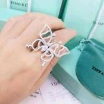 Diamond Ring แหวนผีเสื้องานเพชร CZ แท้ งานเพชรสวยเลอค่า งานน่ารัก งานสวยเนี๊ยบมาก