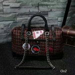 *Chanel travel tweed bag*