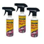 Qturf เคลือบสีรถสูตรน้ำ (Qturf B 600 pro car polish protection) 230 มล. ชุด 3 ขวด