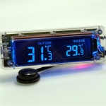 AK-55 - Car Digital In/Out Thermometer
