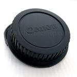 Body Cap ฝาปิดบอดี้ Canon + Rear Lens Cap ฝาปิดท้ายเลนส์
