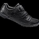 รองเท้าจักรยานเสือหมอบ Shimano RP3 สีดำ
