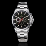 WEIDE – WH1007-1: Dual Time Swiss ISA Multi-function Watch