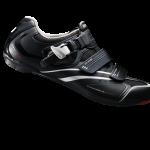 รองเท้าจักรยานเสือหมอบ Shimano R088 สีดำ