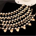 s1230 - สร้อยข้อมือ,กำไลข้อมือ,กำไล,สร้อยข้อมือทอง,กำไลทอง,เครื่องประดับ pearl bracelet love bracelet