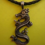 419 Love and Lucky Dragon ขนาด 3 * 4.5 cm