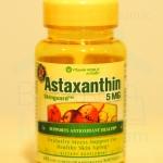 Vitamin World, Astaxanthin 5 mg 60 Softgels แอสต้าแซนทิน สารต้านอนุมูลอิสระขั้นเทพ 1 เม็ด 5 มก. 1 ขวด 60 เม็ด บำรุงผิวและสายตา