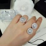 Set แหวน+ต่างหูเพชร สวยมากกกก งานเกรดจิวเวอรี่นะคะ เพชร CZ แท้ เพชรวิ้งมากๆ