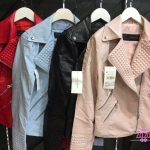 รุ่นใหม่ล่าสุด เสื้อแจ๊คเก็ต หนังเทียม งานเหมือนช้อปเป๊ะ รุ่นนี้หนังนิ่มมาก