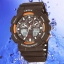 OHSEN – AD1012-5: World-Time Dual System Alarm / Chronograph Sports Watch thumbnail 1