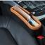 NEW ที่ใส่ของข้างเบาะรถยนต์ ที่จัดระเบียบในรถ กล่องใส่ของเสียบช่องระหว่างเบาะในรถ (สีดำ) thumbnail 8