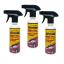 Qturf เคลือบสีรถสูตรน้ำ (Qturf B 600 pro car polish protection) 230 มล. ชุด 3 ขวด thumbnail 1