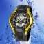 OHSEN – AD0805-4: Dual Time Dual System Alarm / Chronograph Sports Watch thumbnail 1
