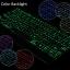 (iPad 2017) ISYNAT เคสคีย์บอร์ดมีไฟ LED 7 สี หมุนได้ 360 องศา thumbnail 4