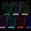 (iPad 2017) ISYNAT เคสคีย์บอร์ดมีไฟ LED 7 สี หมุนได้ 360 องศา thumbnail 3