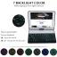 (iPad 2017) ISYNAT เคสคีย์บอร์ดมีไฟ LED 7 สี หมุนได้ 360 องศา thumbnail 2
