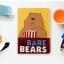 เคสการ์ตูน We BARE BEARS (เคส iPad mini 4) thumbnail 3
