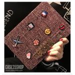 (สีชมพูเข้ม) Di-Lian Fashion (เคส iPad Air 2)