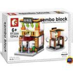Sembo Block SD6086 ตัวต่อร้านค้า