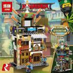 เลโก้จีน LEPIN 03057 ชุด NinjaGo City 4 IN 1