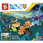 เลโก้จีน SY 866 Nexo Knights ชุด Aaron's Stone Destroyer