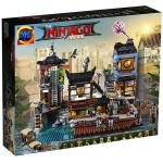 NINJAGO เลโก้จีน นินจาโก LEPIN 06083 ชุด NINJAGO City Docks