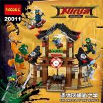 เลโก้จีน Decool 20011 ชุด NinjaGo Movies