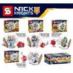 เลโก้จีนชุดเล็ก SY 736 Nexo Knight ชุด 4 กล่อง