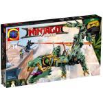 เลโก้จีน LEPIN 06051 Ninja Go Movies ชุด Green Ninja Mech Dragon