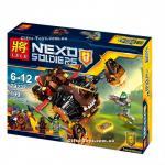 เลโก้จีน LELE 79237 Nexo Knights ชุด Moltor's Lava Smasher