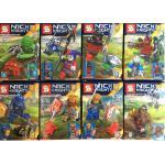 มินิฟิกเกอร์ SY616 Nexo Knights ชุด 8 กล่อง
