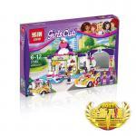 เลโก้จีน LEPIN 01051 Friends ชุด Heartlake Frozen Yogurt Shop