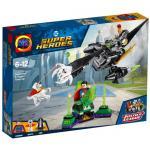 Super Heroes เลโก้จีน LEPIN 07091 ชุด SUPERMAN & KRYPTO TEAM-UP
