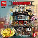 เลโก้จีน LEPIN 06066 NinjaGo ชุด Ninjago City