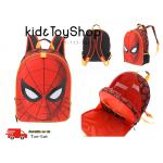 กระเป๋าเป้กระเป๋านักเรียนสำหรับเด็ก Spider-Man