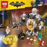BATMAN เลโก้จีน LEPIN 07096 ชุด Egghead Mech Food Fight