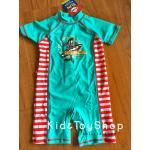 ชุดว่ายน้ำเด็กเล็ก ++พร้อมส่ง++ สีฟ้าแดง