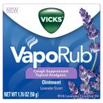วิคสำหรับเด็ก Vicks Vaporub Soothing Chest Rub Cough Suppressant Ointment, Lavender, 1.76 Oz Exp 2019