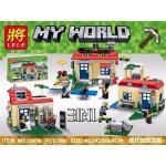 MINECRAFT เลโก้จีน LELE 33076 Minecraft ชุดบ้าน 3 IN 1