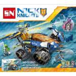 เลโก้จีน SY 897 Nexo Knights ชุด AARON'S ROCK CLIMBER