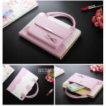 (สีชมพู) เคสกระเป๋า Princess Series (เคส iPad mini 4)