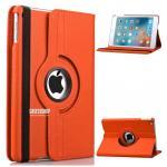 (สีส้ม) เคสสีพื้นหมุนได้ 360 องศา (เคส iPad mini 4)