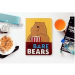 (ลายที่2) เคสการ์ตูน We BARE BEARS (เคส iPad mini 4)