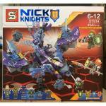 เลโก้จีน SY 914 Nexo Knights ชุด HELIGOYLE