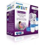 ปั๊มนมแบบปั๊มมือ Philips AVENT Comfort Manual breast pump Natural Includes 3 milk storage cups