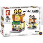 Sembo Block SD6090 : Egg Tart