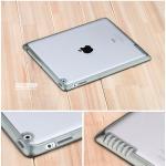 (สีดำ) เคสกรอบใส หุ้มซิลิโคน (เคส iPad 2/3/4)