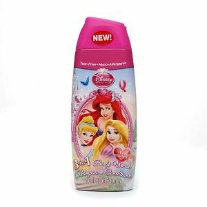 สบู่เด็กDisney Princess 3 in 1 Shampoo, Body Wash, Bubble Bath, Wild Berry
