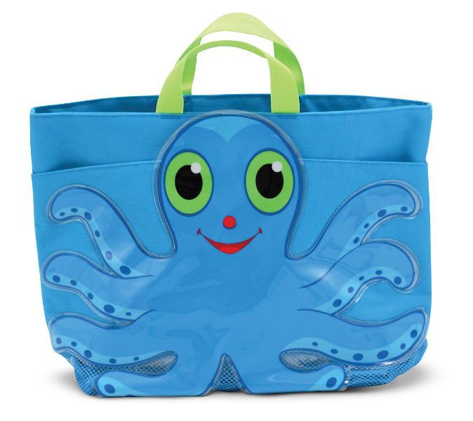 กระเป๋าใส่อุปกรณ์ว่ายน้ำ Flex Octopus Beach Tote Bag